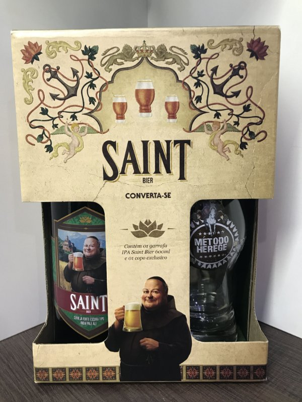 Kit Saint Bier IPA 1gf 600ml + 1 copo