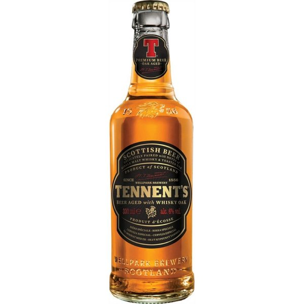 Cerveja Tennent's Whisky Oak 330ml