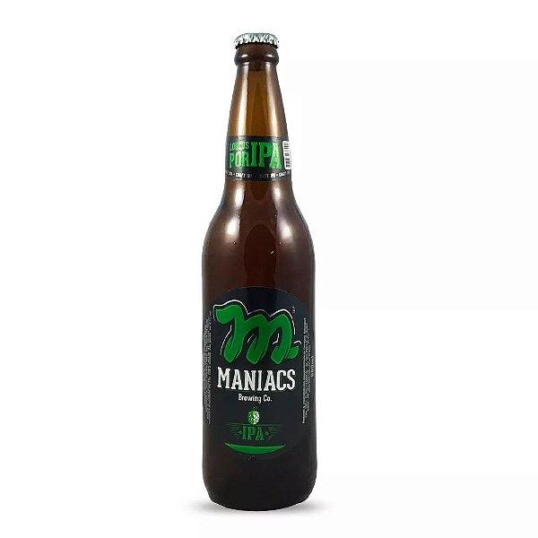 Cerveja Maniacs IPA 600ml