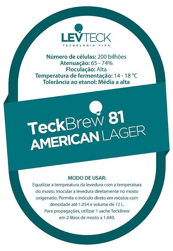 Fermento Líquido TeckBrew American Lager - TB81