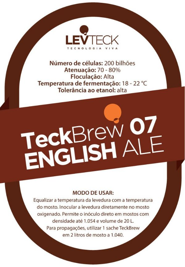 Fermento Líquido TeckBrew English Ale - TB07