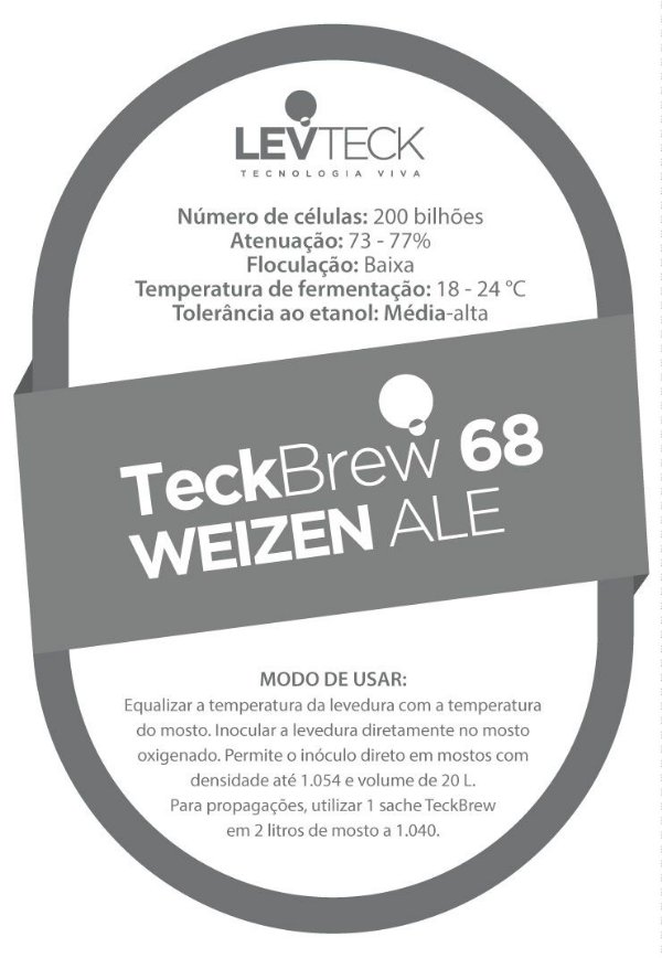 Fermento Líquido TeckBrew Weizen Ale - TB68