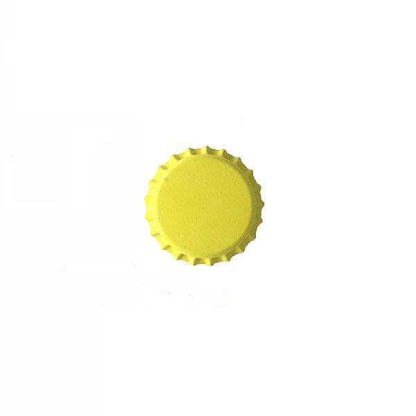 Tampinha para garrafas - 26mm - Amarelo Titânio