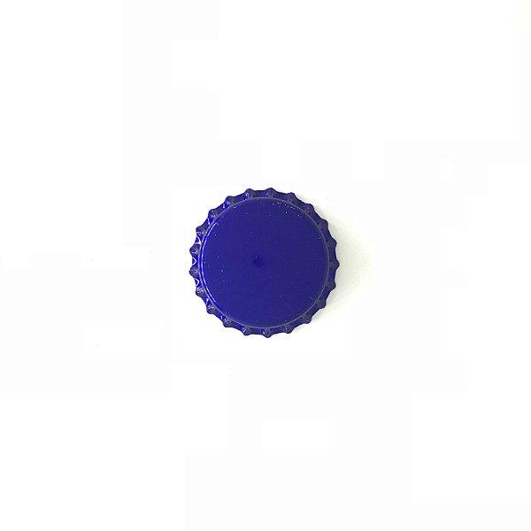 Tampinha para garrafas - 26mm - Azul Ciano