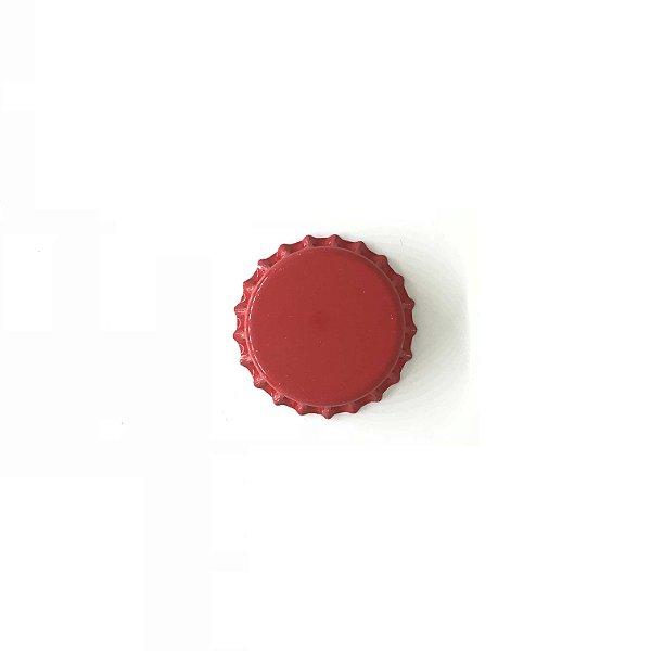 Tampinha para garrafas - 26mm - Vermelha