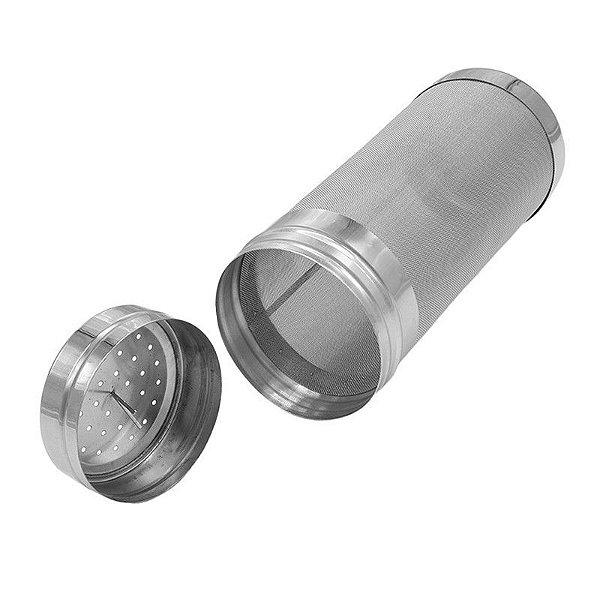 Filtro de lúpulo c/ tampa 300 micra 70x180mm