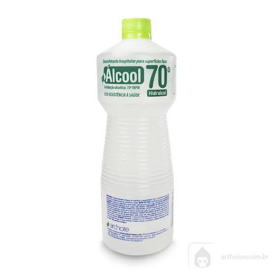 Álcool 70% 1000ml - Sanitizante