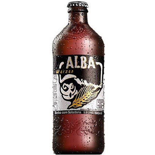 Cerveja Coruja Alba Weizen - 600ml