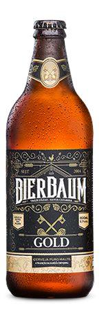 Cerveja Bierbaum Gold 600ml