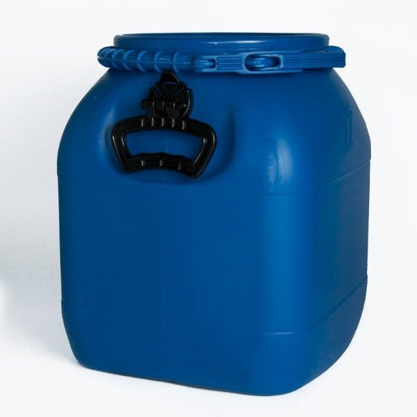 Bombona plástica (Fermentador) 30 litros - Azul