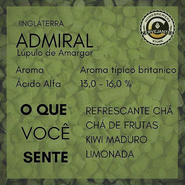 Lúpulo Admiral - 50g