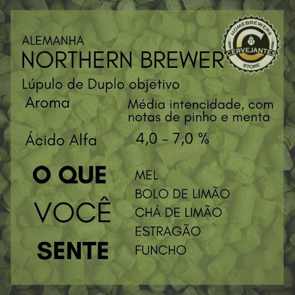 Lúpulo Northern Brewer - 50g