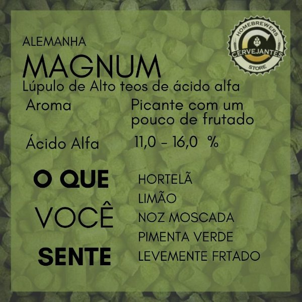Lúpulo Magnum - 50g