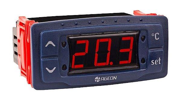 Controlador digital Ageon G106 (3 relés, 2 sensores)