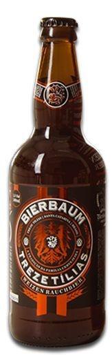 Cerveja Bierbaum Weizen Rauchbier Treze Tílias 500ml
