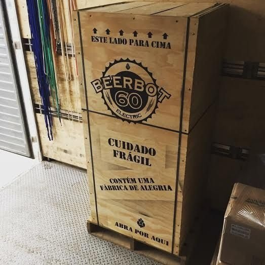 Caixa para Transporte BeerBot 60