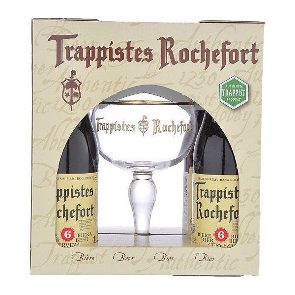 Kit Cerveja Rochefort 4gf 330ml + 1 Taça