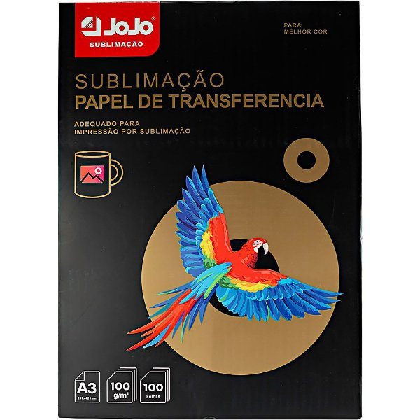 Papel Sublimatico Jojo A3 - 100 folhas