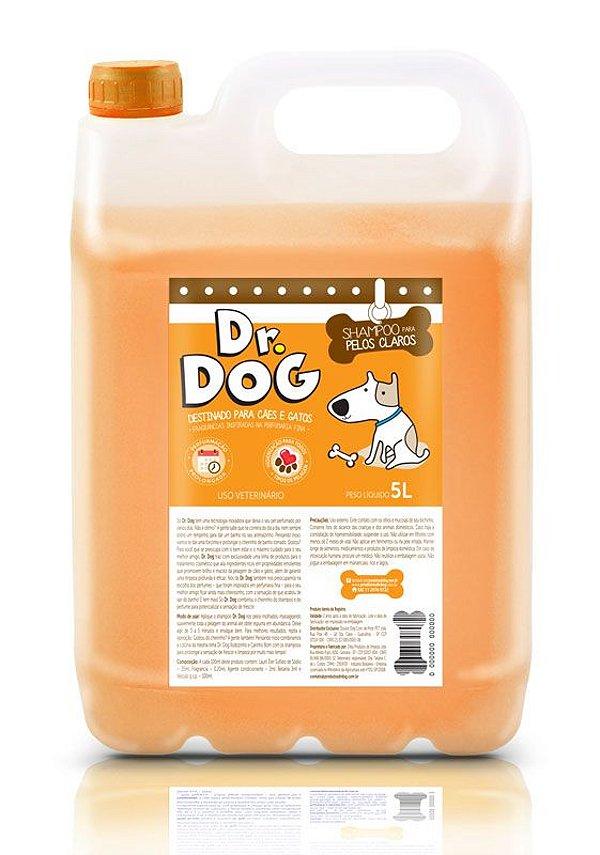 Shampoo Clareador Dr Dog - embalagem PRO Econômica 5 litros - rende mais de 160 aplicações!