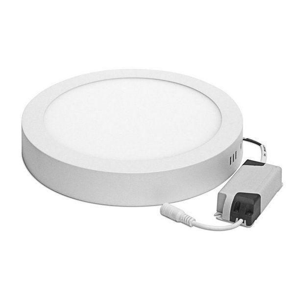 Plafon Redondo Sobrepor LED 18 Watts - Bivolt