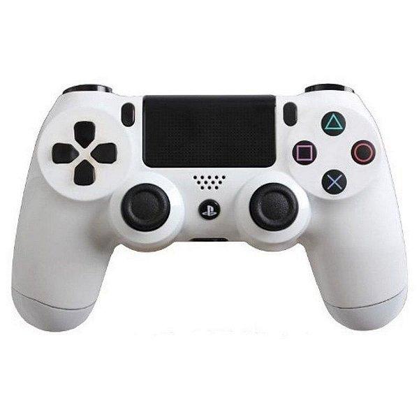 PS4 - Controle Sem Fio Dualshock 4 - Branco