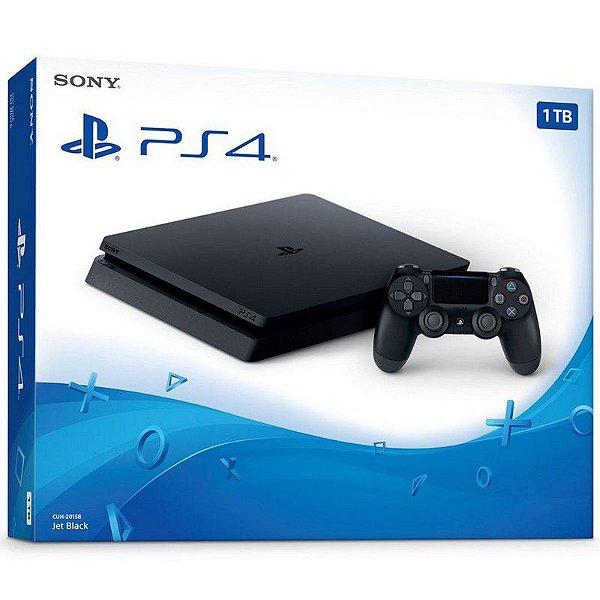 PS4 - Console Playstation 4 Slim 1Tb