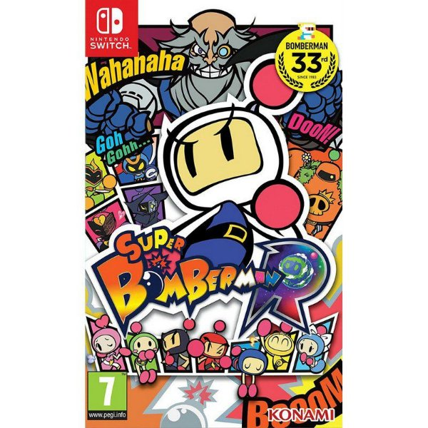 Switch - Super Bomberman R