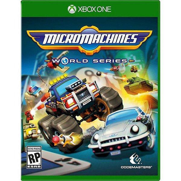 XboxOne - Micro Machines -World Series
