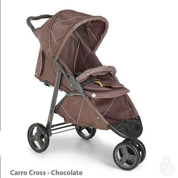 CARRINHO CROSS CHOCOLATE - GALZERANO