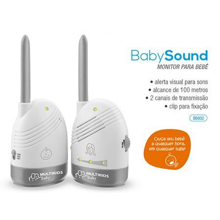 BABA ELETRONICA SEM TELA BABY SOUND-MULTILASER