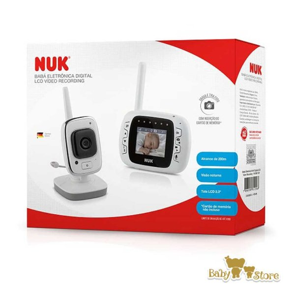 BABA ELETRONICA DIGITAL LCD VIDEO RECORDING-NUK