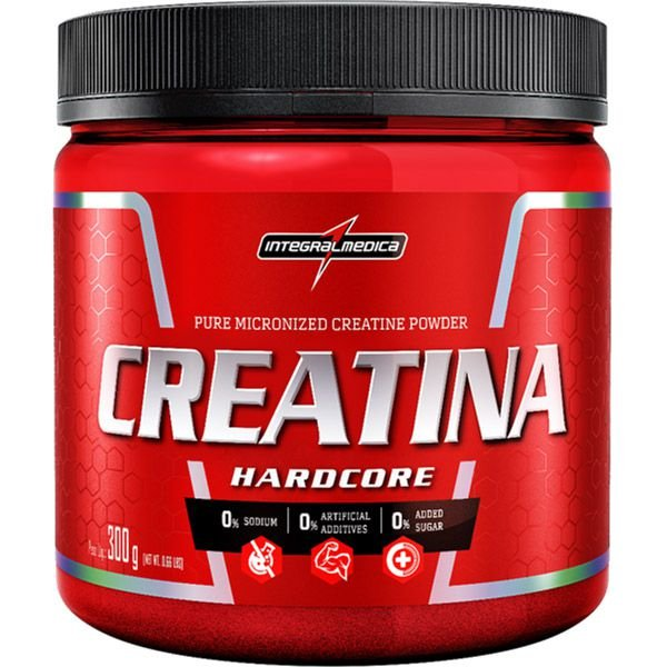 Creatina HardCore Integralmedica 300g