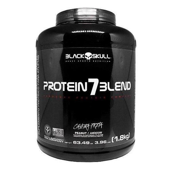 Protein 7blend 1.8kg Black Skull Caveira Preta