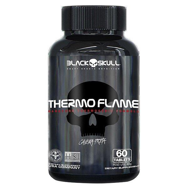 THERMO FLAME 60 Tables Black Skull Caveira Preta