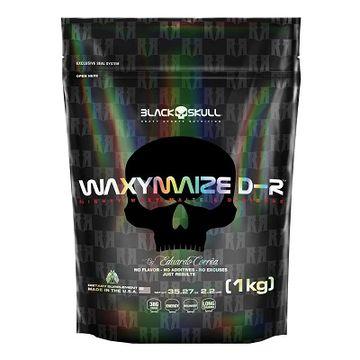 WAXYMAZE D-R 1KG Black Skull