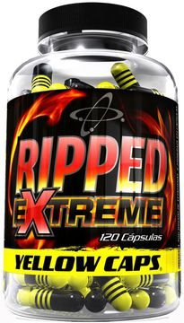 Ripped Extreme Yellow 120 Capsulas -Atlhetica