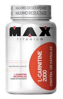 L-carnitine 120 caps - Max Titanium