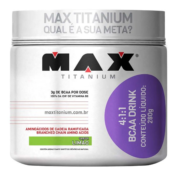 BCAA drink 4:1: 280G - Max Titanium