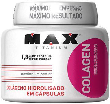 Colageno 100 capsulas - Max Titanium