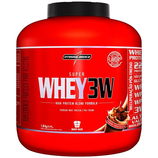 Super Whey 3w 1,8kg - Integral Medica