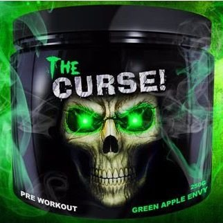 Pre treino the curse cobra labs 250g
