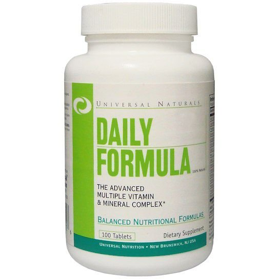 Multivitaminico Daily Formula 100 tabletes