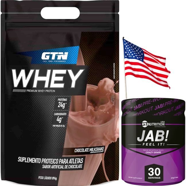 Combo Importado GT Nutrition (JAB COM VENCIMENTO FINAL do 02/19)