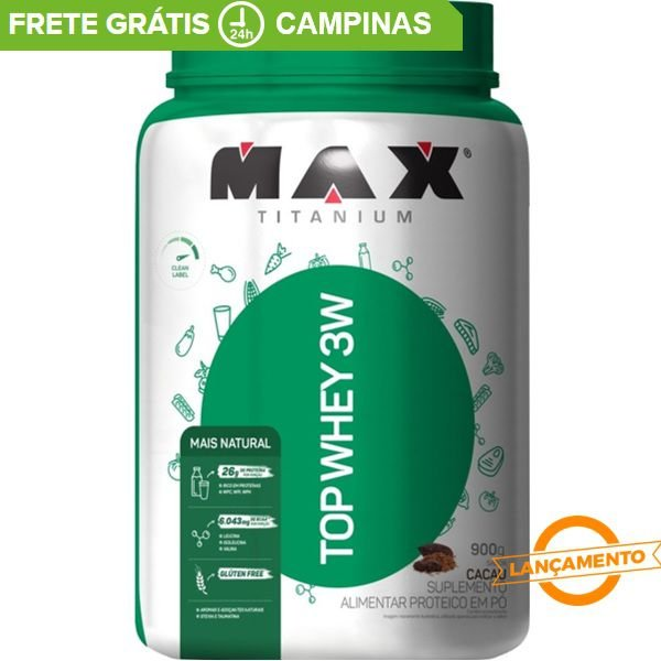 Top Whey Mais Natural - Max Titanium