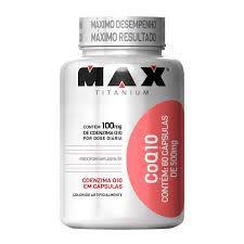 COENZIMA Q10-60CAPS -MAX