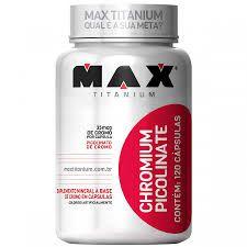 CHROMIUM PICOLINATE MAX 60 CAPS