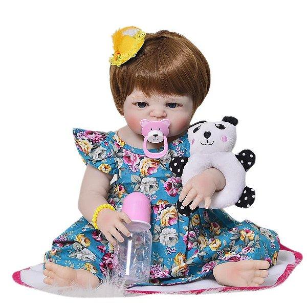 ed82e5691 BONECAS BEBE REBORN SILICONE Frete Grátis - Bebê REBORN