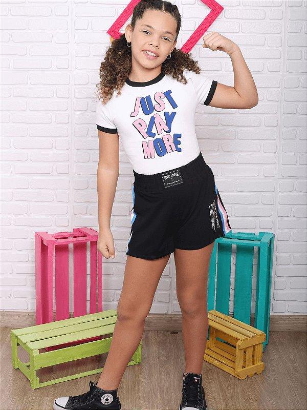 T-shirt teen Vanilla Cream justinha tumblr branca