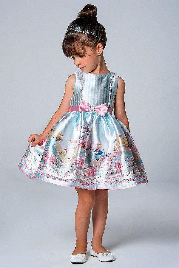 Image result for vestido de festa infantil