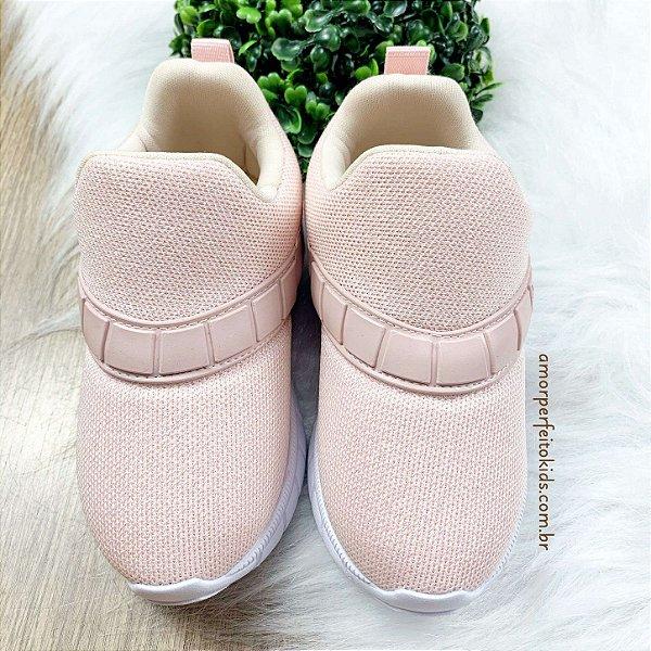 Tenis infantil Xuá xuá confort rosa